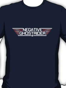 Negative Ghostrider the Pattern is Full T-Shirt