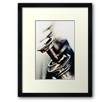 Tough Trumpet... Framed Print