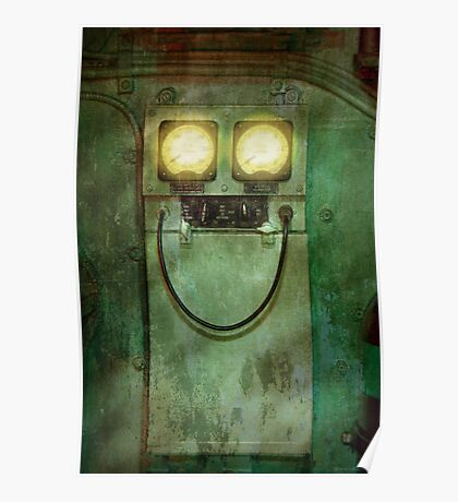 Steampunk - Be Happy Poster