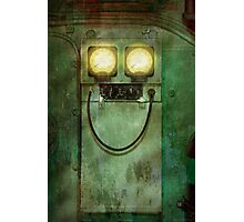 Steampunk - Be Happy Photographic Print