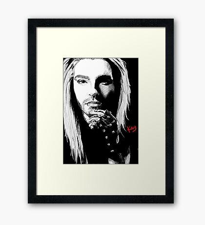 Blond Bill Framed Print