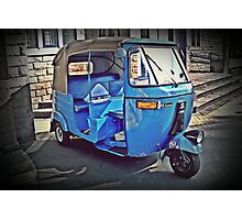 Three Wheeler  Photographic Print