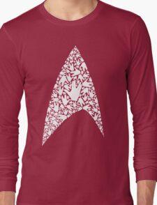 Live long and wear the Starfleet insignia Long Sleeve T-Shirt