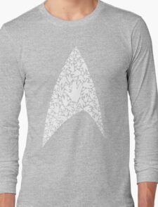 Live long and wear the Starfleet insignia Long Sleeve T-Shirt