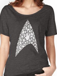 Live long and wear the Starfleet insignia Women's Relaxed Fit T-Shirt