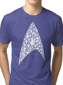 Live long and wear the Starfleet insignia Tri-blend T-Shirt