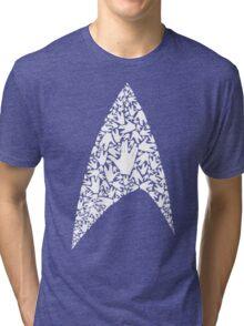 Live long and wear the Starfleet insignia Tri-blend T-Shirt