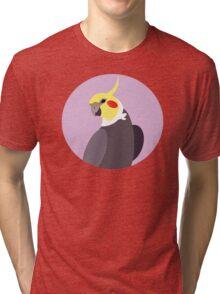 Vector Cockatiel  Tri-blend T-Shirt