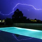 Lightning in Majorca by mikeyg2000