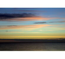 North Sea Dawn Photographic Print