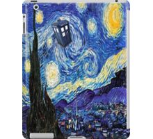 A Starry Night Van Gogh Doctor Who Tardis Products iPad Case/Skin