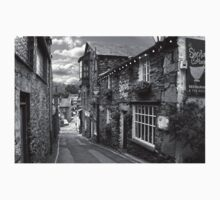 Slate Houses in the Lake District B&W Kids Clothes