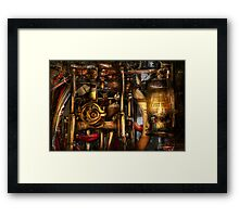 Steampunk - Mechanica  Framed Print