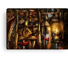 Steampunk - Mechanica  Canvas Print