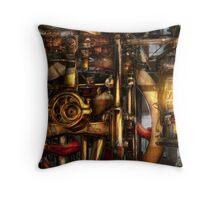 Steampunk - Mechanica  Throw Pillow