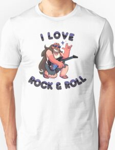 "Greg Universe - Steven Universe ""I LOVE ROCK & ROLL"" T-Shirt"
