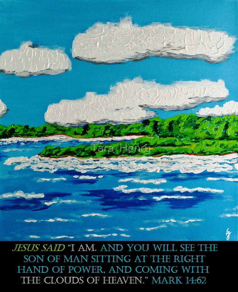 Mark 14:62 with 'The View' by Tara  Henry