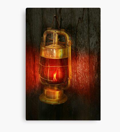 Steampunk - Red light district Canvas Print