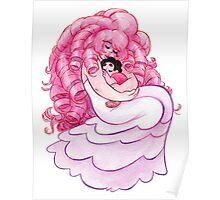 That's me Loving You: Steven Universe Rose Quartz and Steven NO BG Poster