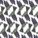 Coloured Bird Pattern by samclaire