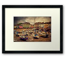 Ilfracombe Harbour Framed Print