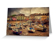 Ilfracombe Harbour Greeting Card