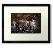 Blacksmith - That's a lot of Hoopla Framed Print
