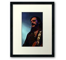 Lemmys is God Framed Print