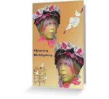Girls Birthday card Greeting Card