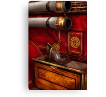 Firemen - An elegant job  Canvas Print