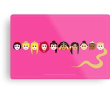 Disney Princesses Metal Print