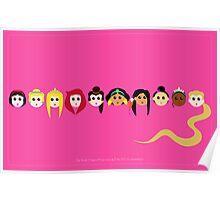 Disney Princesses Poster