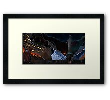 Beyond the Fall of Time Framed Print