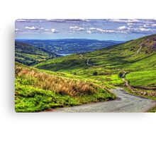 The Struggle to Ambleside Canvas Print