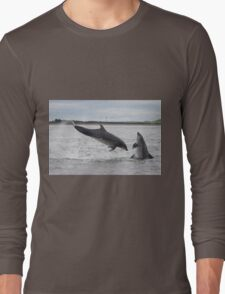 Jumping Dolphins Long Sleeve T-Shirt