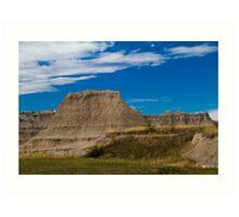 Badlands National Park Art Print