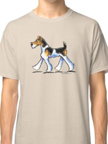 Wire Fox Terrier Trot Classic T-Shirt