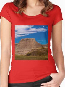 Badlands National Park Women's Fitted Scoop T-Shirt