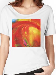 Vibrant Sensation Vivid Abstract I Women's Relaxed Fit T-Shirt