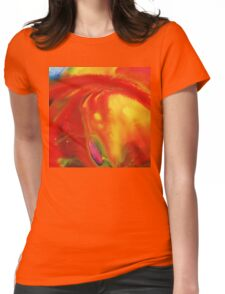 Vibrant Sensation Vivid Abstract I Womens Fitted T-Shirt