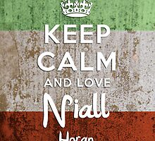 Keep Calm And Love Niall Horan by thomas1700
