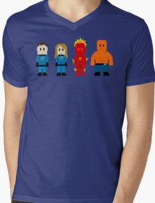 Super Heroes 5 - The Fantastics Mens V-Neck T-Shirt
