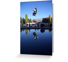 Canberra Balloon Greeting Card