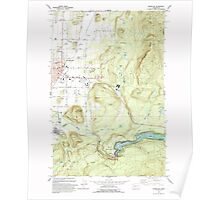 USGS Topo Map Washington State WA Enumclaw 241077 1993 24000 Poster