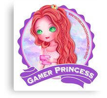 Gamer Princess Youtuber - Products Canvas Print