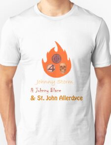 Johnny, Johnny and St John Unisex T-Shirt