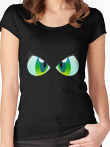 Chrysalis is watching you Women's Fitted Scoop T-Shirt