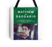 Matthew Daddario as Alec Lightwood Tote Bag