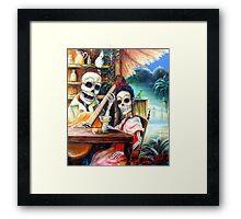 La Borracha Framed Print