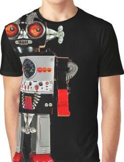 Vintage Robot 3 T-Shirt Graphic T-Shirt